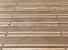 древесина пола палубы предпосылки стоковое изображение