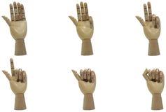 древесина руки комплекса предпусковых операций стоковая фотография