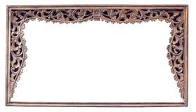 древесина сбора винограда рамки классн классного покрынная изображением Стоковое Изображение RF