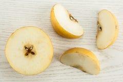 Древесина серого цвета pn nashi груши Японии Стоковые Фотографии RF