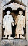 древесина скульптуры Стоковая Фотография