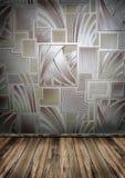 древесина стены комнаты пустого пола старая иллюстрация штока