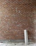древесина стены красного цвета кирпича стоковое фото