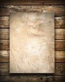 древесина стены текстуры grunge бумажная Стоковое Изображение RF