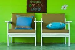 древесина стула стоковые фотографии rf