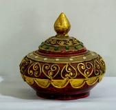 Древесина Таиланда handmade Стоковые Изображения