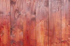древесина текстуры предпосылки красная Стоковое Фото