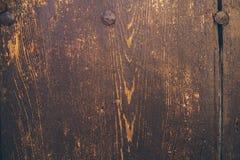древесина текстуры предпосылки старая деревянное двери старое Стоковое фото RF
