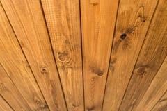 древесина текстуры теней предпосылки коричневая Концепция перспективы Стоковые Фотографии RF
