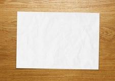 Древесина текстуры чистого листа бумаги стоковые фотографии rf