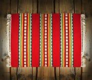 древесина тканья циновки фона традиционная Стоковое Фото