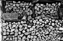 древесина топлива Стоковые Фото