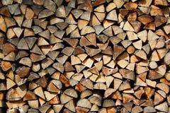древесина топлива Стоковые Фотографии RF