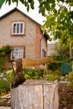 древесина тяпки Стоковые Фото
