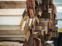 Древесина, фабрика, конструкция стоковое изображение rf