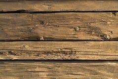 древесина хаты Стоковая Фотография