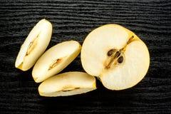 Древесина черноты pn nashi груши Японии Стоковое Изображение RF