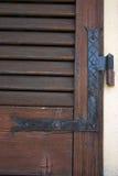 древесина шарнира Стоковая Фотография