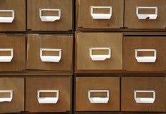 древесина шкафа Стоковые Фотографии RF