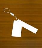 древесина ярлыка предпосылки старая белая Стоковое фото RF