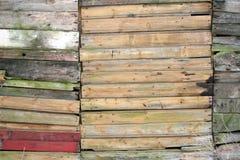 древесина 16 текстур Стоковая Фотография