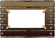 древесина annoucement Стоковое Фото