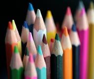 древесина crayon Стоковое Фото