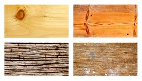 древесина grunge собрания Стоковые Фотографии RF