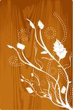 древесина grunge иллюстрация штока
