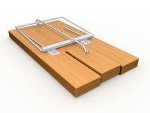 древесина mousetrap металла бесплатная иллюстрация
