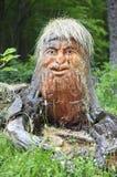 древесина scupture guturiaghino Стоковая Фотография RF