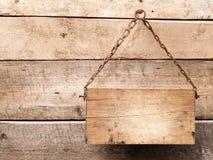 древесина signboard стоковая фотография rf