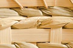 древесина weave корзины предпосылки Стоковое фото RF