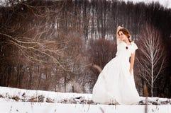 древесины девушки Стоковое фото RF