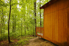 древесины кабины Стоковое Изображение