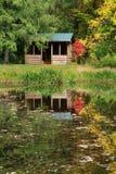 древесины кабины Стоковое Фото