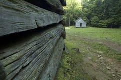древесины кабин Стоковое Изображение RF