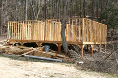 древесины конструкции Стоковые Фото