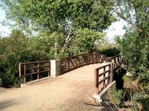 древесины моста Стоковые Фото