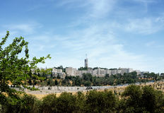 Древнееврейский университет на Mount Scopus Стоковая Фотография RF