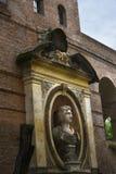 Древние стены окружая город Romein Италии Стоковые Изображения RF