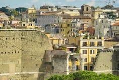 Древние стены Рима Стоковые Фотографии RF