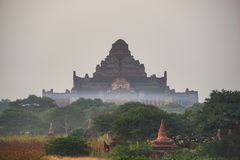 Древние храмы в Bagan, Мьянме Стоковая Фотография