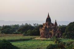 Древние храмы в Bagan, Мьянме Стоковые Изображения RF