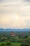 Древние храмы в Bagan, Мьянме Стоковые Изображения