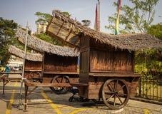 Древний город в Melaka, Малайзии Стоковое Изображение RF