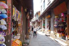 Древний город Fenghuang, провинция Хунань, Китай Стоковое Изображение RF