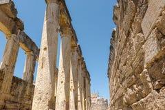 Древний город Hierapolis в Pamukkale, Турции стоковое изображение rf