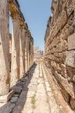 Древний город Hierapolis в Pamukkale, Турции стоковое изображение