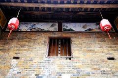 Древний город Huangyao в фарфоре Стоковое Изображение